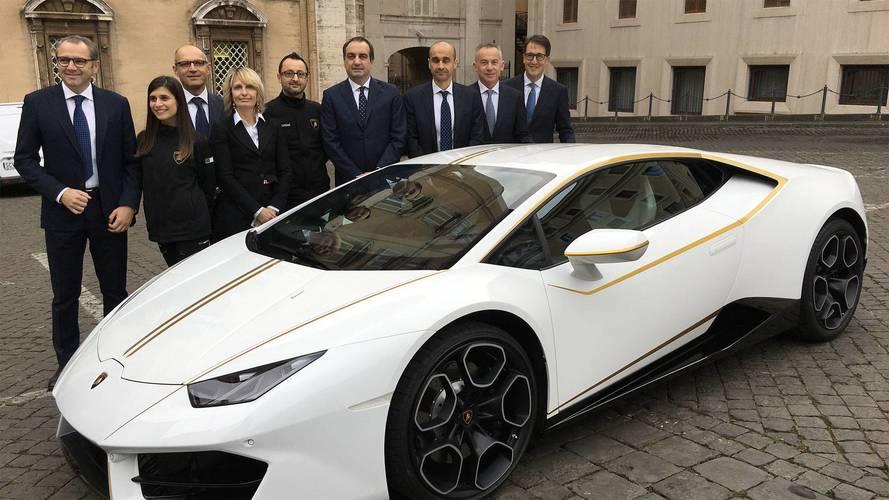 Lamborghini Huracan pape François