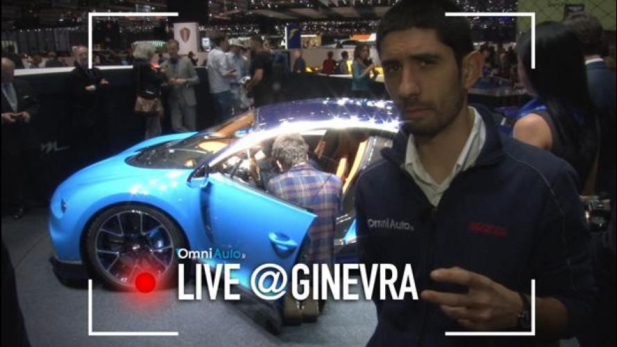 Bugatti Chiron, 1.500 CV visti dal vivo [VIDEO]