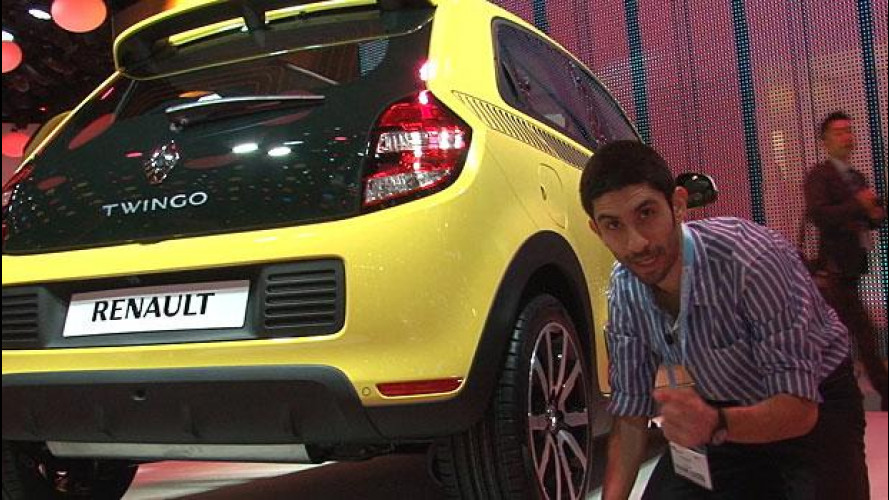 Nuova Renault Twingo tutta da scoprire al Salone di Ginevra