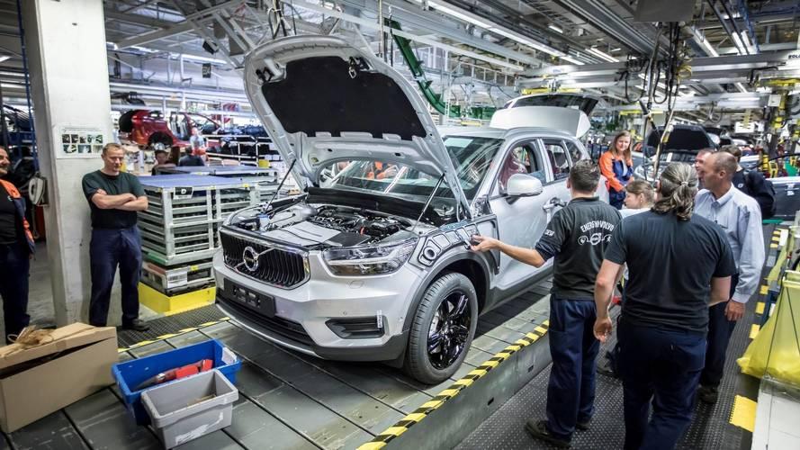 Le XC40 cartonne, Volvo accélère le rythme de production