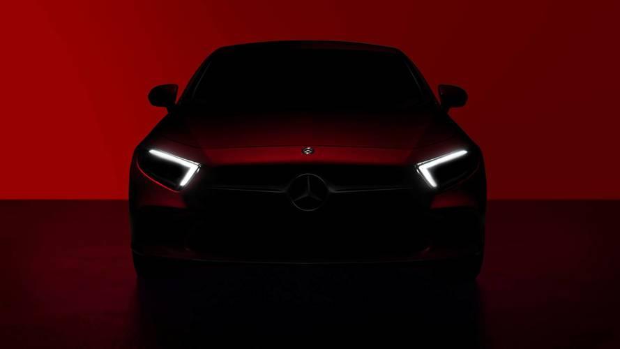 Première image de la nouvelle Mercedes CLS avant sa présentation
