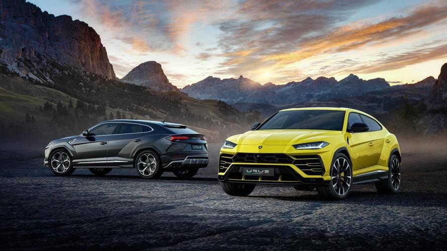 The Lamborghini Urus SUV is exceeding expectations