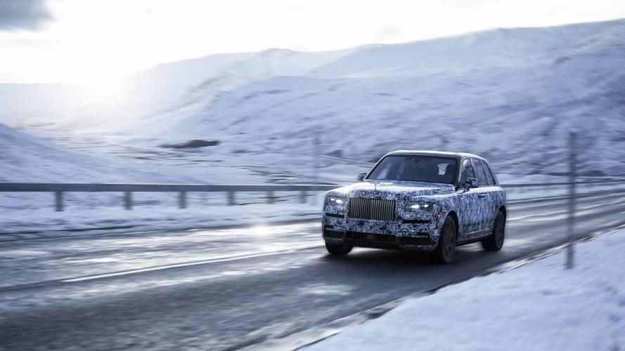 Rolls-Royce Cullinan teaser