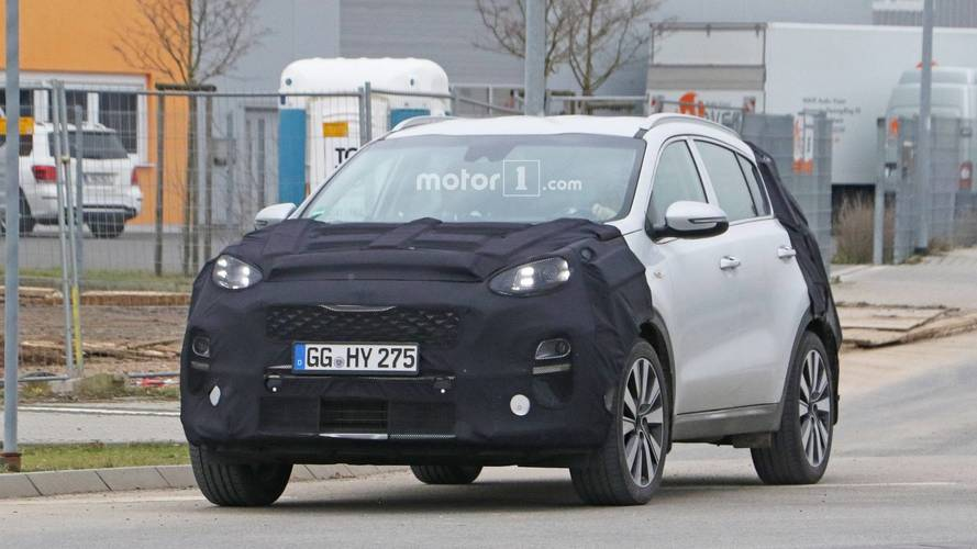 2019 Kia Sportage Facelift Spotted With New Headlights