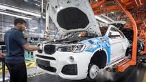 BMW X4 gyártási mérföldkő