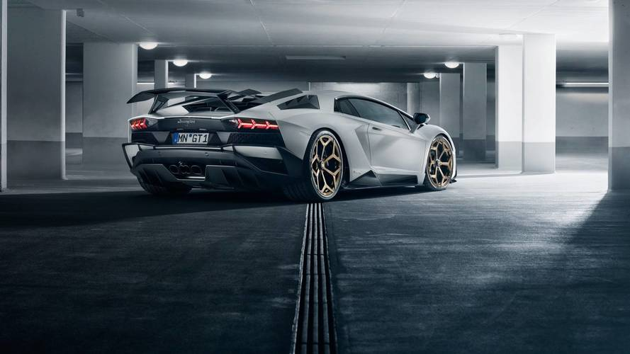 Lamborghini Aventador S par Novitec - Encore plus nerveuse