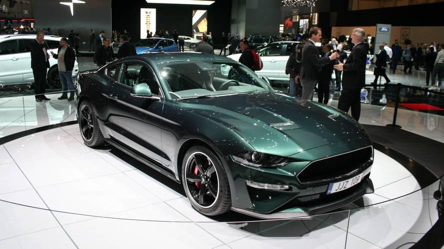 Genève 2018 - La Ford Mustang Bullitt débarque en Europe!