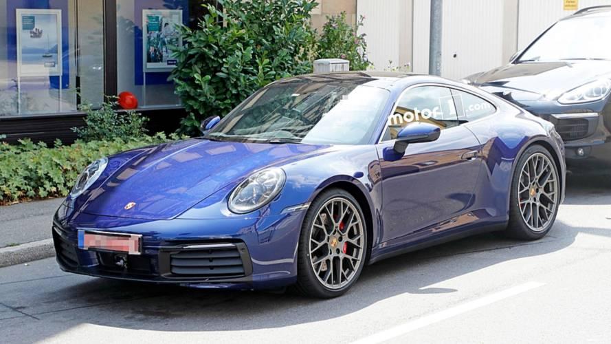 Nuova Porsche 911, le foto spia senza veli