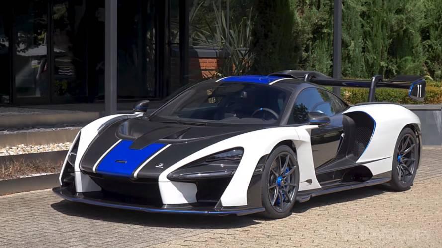 MSO tarafından hazırlanan McLaren Senna harika görünüyor