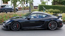 2019 Porsche 718 Cayman GT4 spy photo