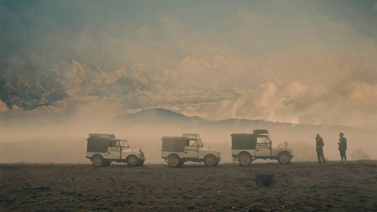 Land Rover trek runs deep into the Himalayas