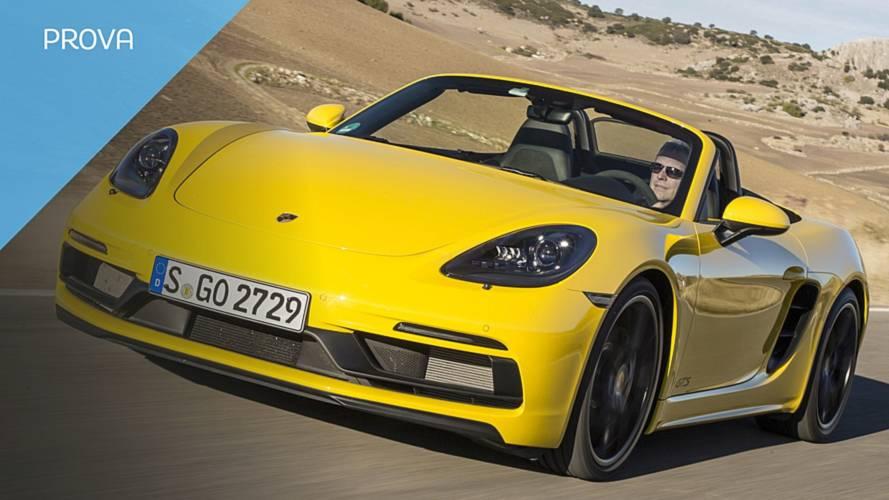 Porsche 718 Boxster GTS, sportività e raffinatezza