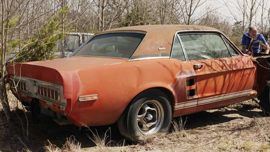 Ford Shelby GT500 EXP 'Little Red' Prototype Discovered in Texas