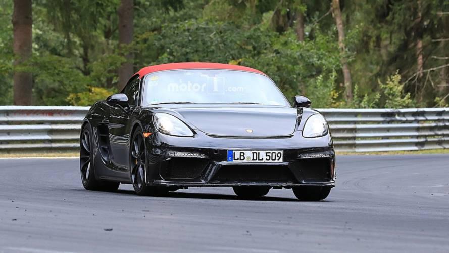 Porsche 718 Boxster Spyder nuove foto spia
