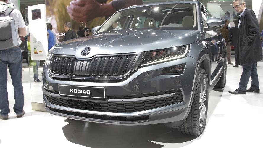 Video: Skoda Kodiaq, Paris Otomobil Fuarı'nda