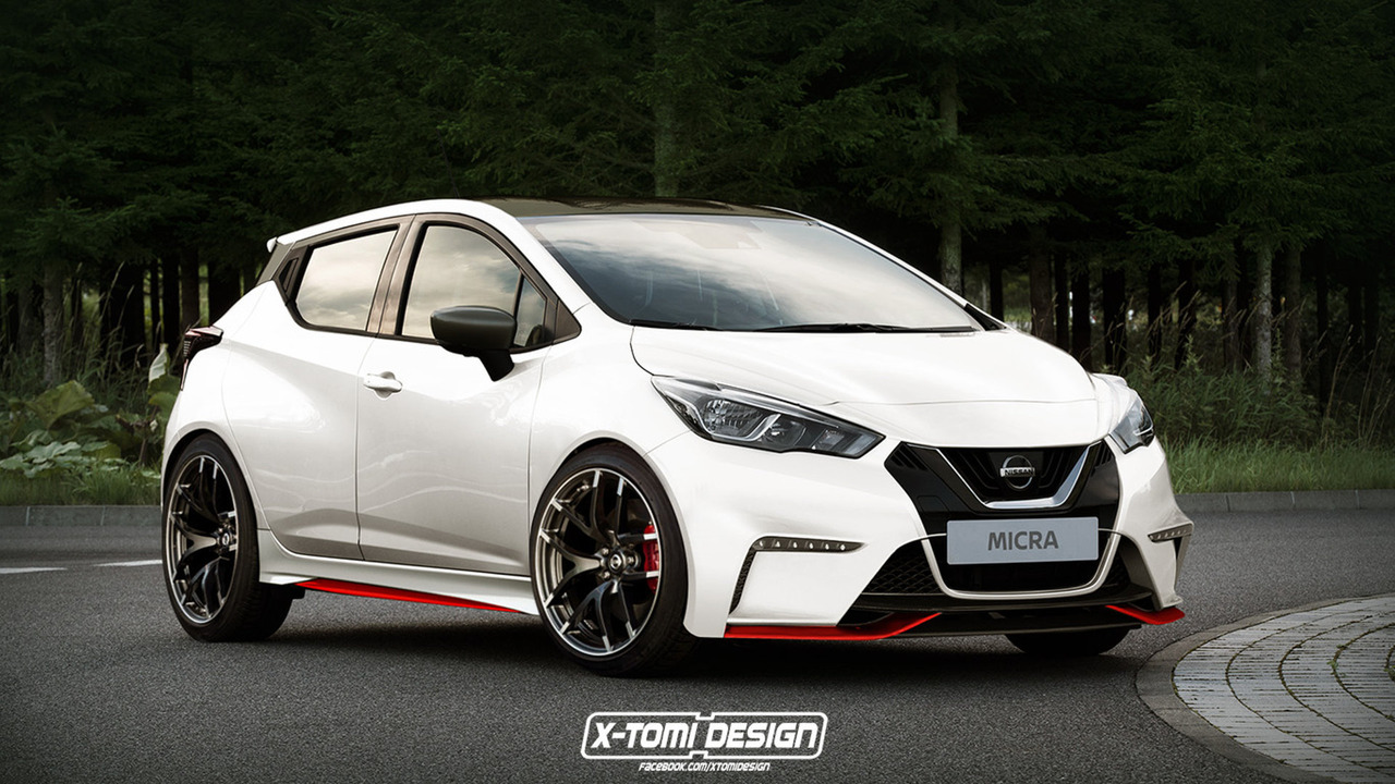 Nissan Micra Nismo Rendering