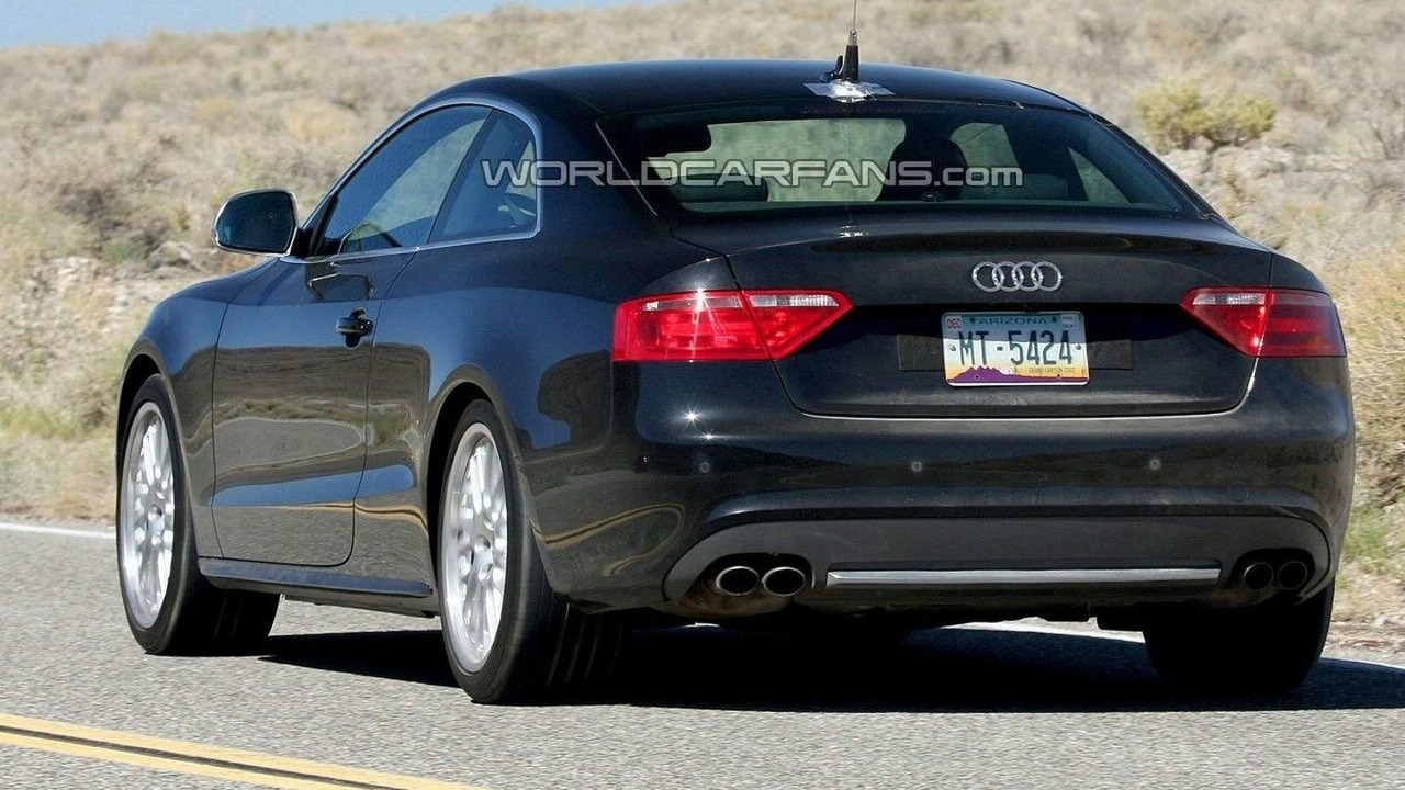 Audi RS5 spy picture