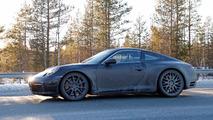Porsche 911 992 spy photos