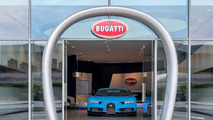 Bugatti showroom Dubaï