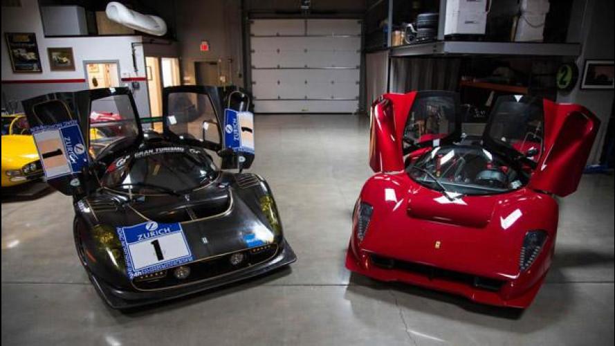 Ferrari P 4/5 e P 4/5 Competizione sotto lo stesso tetto