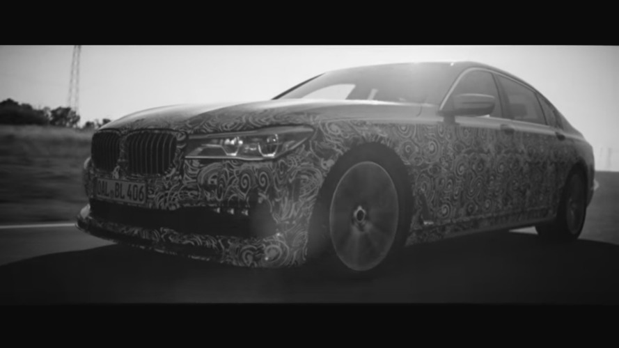 BMW Alpina B7 teased [video]