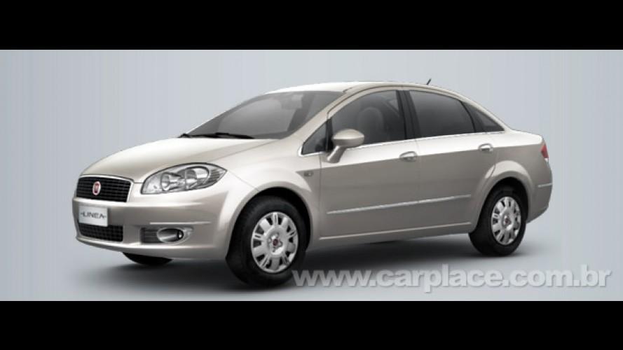 Fiat Linea LX 2010 chega com preço sugerido R$ 53.990, mas deve sair por menos - Veja os itens de série da versão