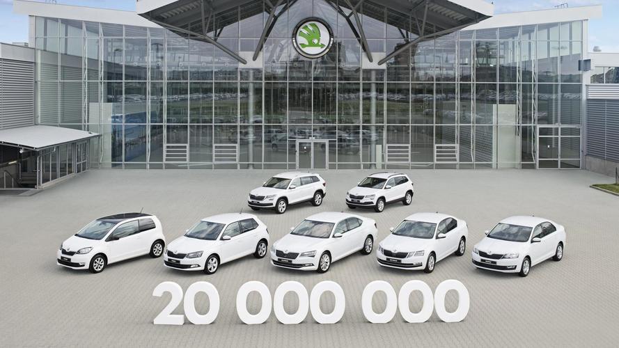 Skoda llega a 20 millones de coches fabricados