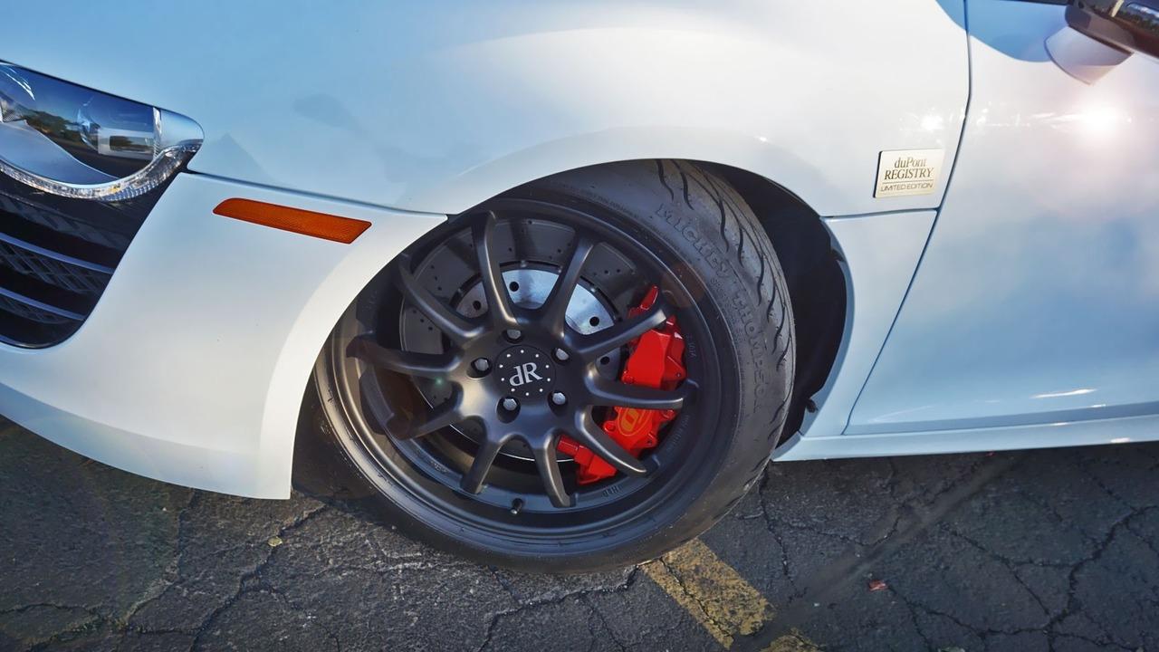Audi R8 biturbo conversion