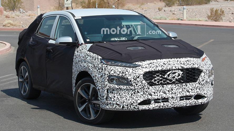 Hyundai'nin CUV'u çölde test edilirken yakalandı