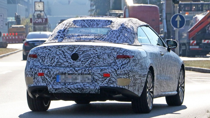 2018 Mercedes E-Class Convertible casus fotoğrafları