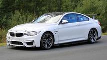 BMW M4 facelift spy photos