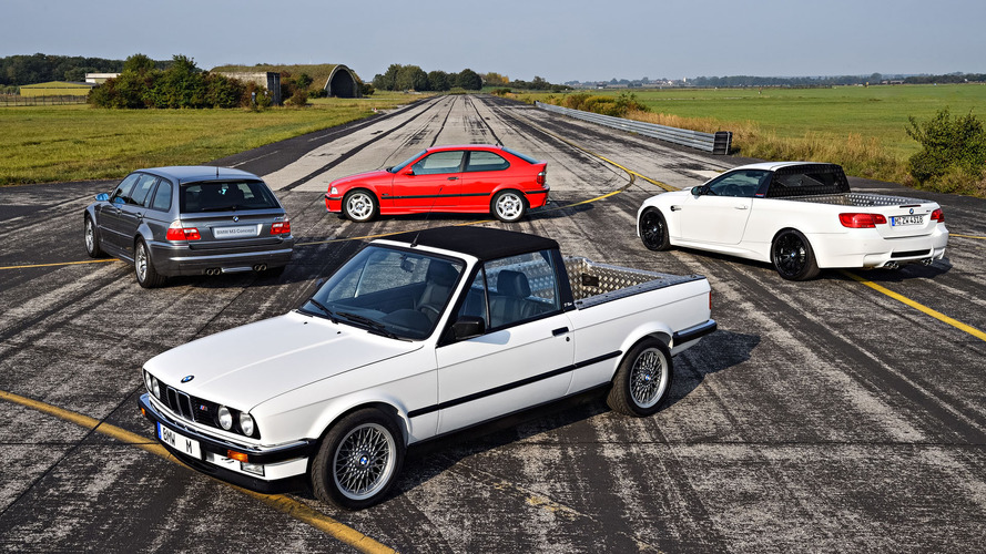BMW M3, 30'uncu yaşını dört özel misafirle kutladı