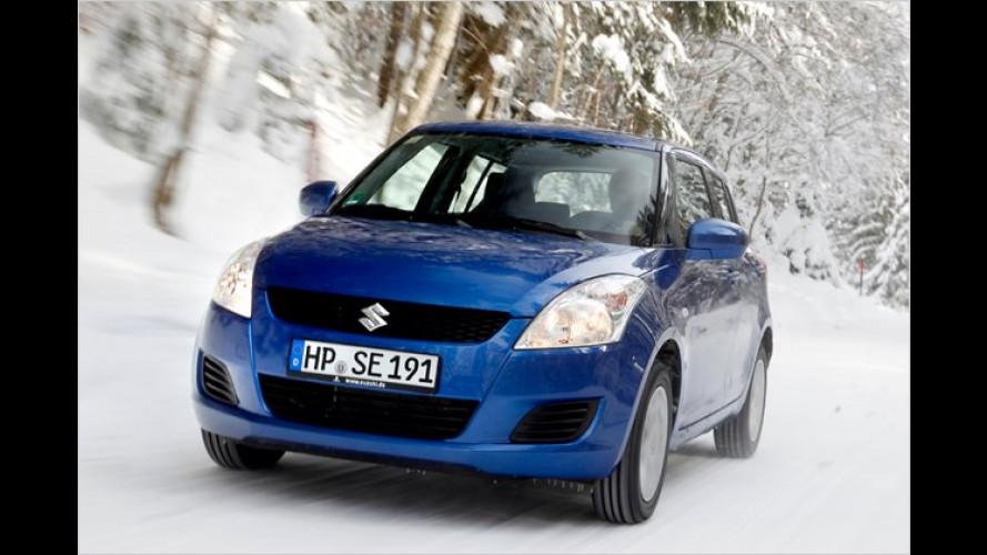 Nicht nur Winter-Sport: Der neue Suzuki Swift 4x4 im Test