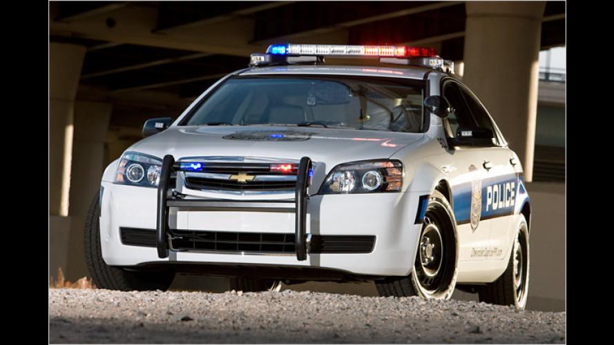 Recht durchsetzen: Neuer Chevrolet Caprice für US-Polizei