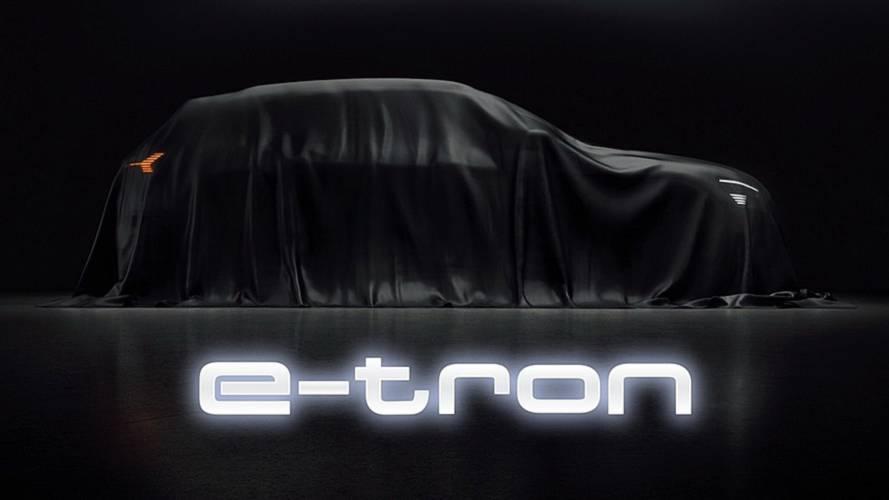 El Audi e-tron 2019 se presentará el 17 septiembre en San Francisco