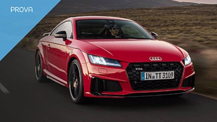 Audi TTS, divertimento in sicurezza