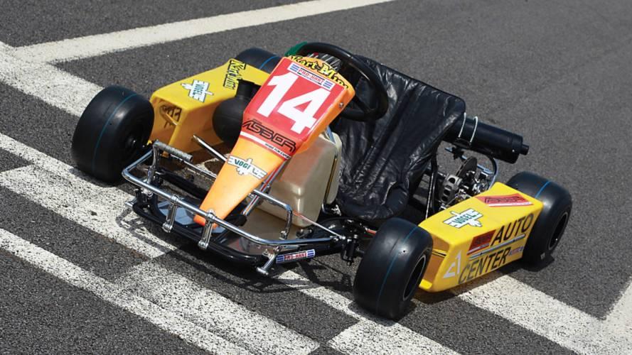 El último kart de Ayrton Senna puede ser tuyo