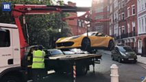 Ferrari 812 Superfast Impounded In London