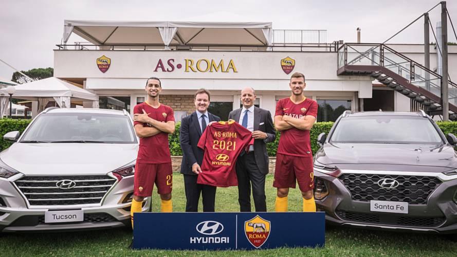 Hyundai è sponsor della AS Roma