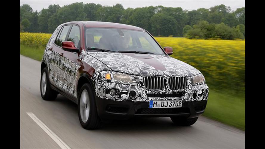 Anteprima nuova BMW X3
