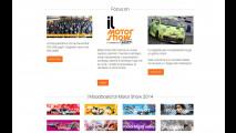 Il nuovo sito del Motor Show 2014