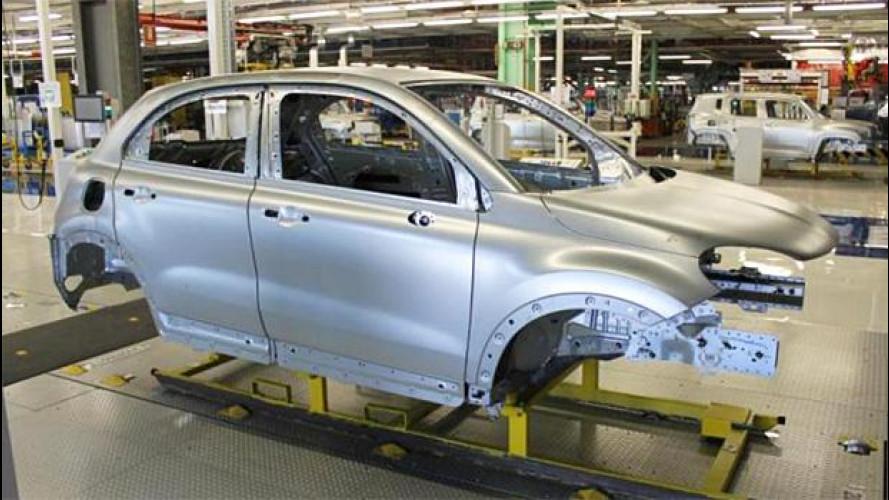 Fiat 500X, le prime foto nel piano industriale FCA