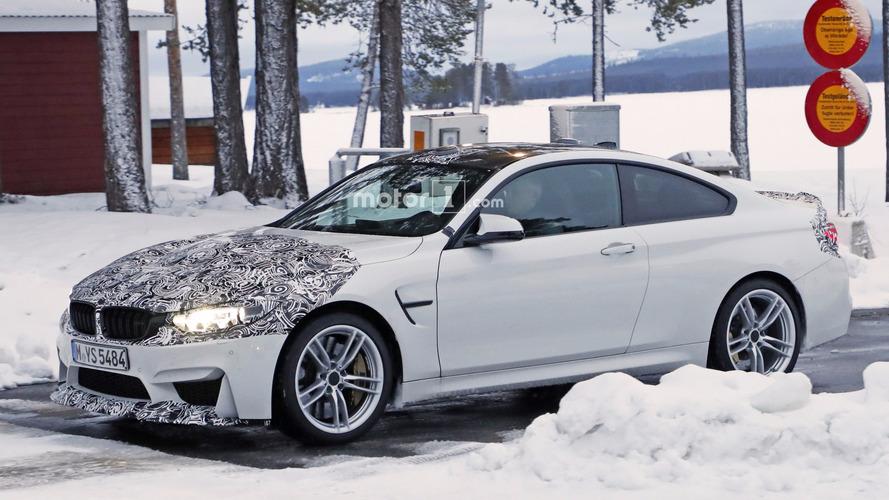 2018 BMW M4 CS, medeni bir GTS taklidi yaparken görüntülendi