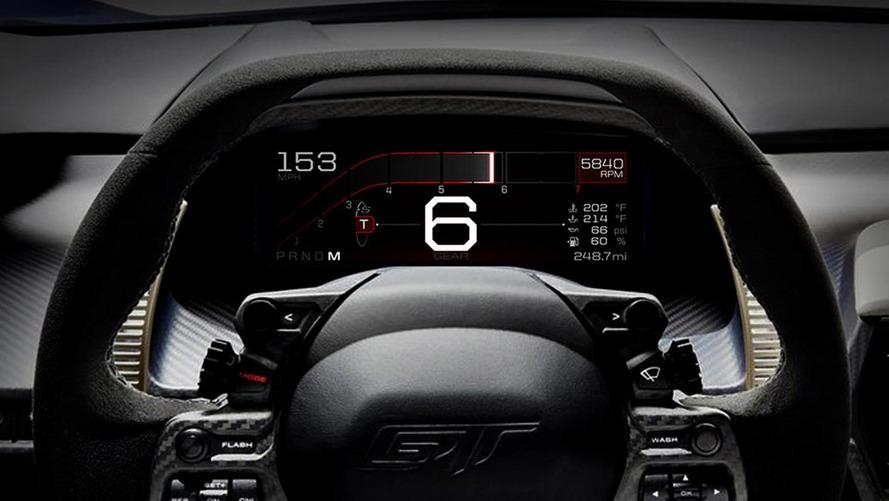 Ford GT Instumentation