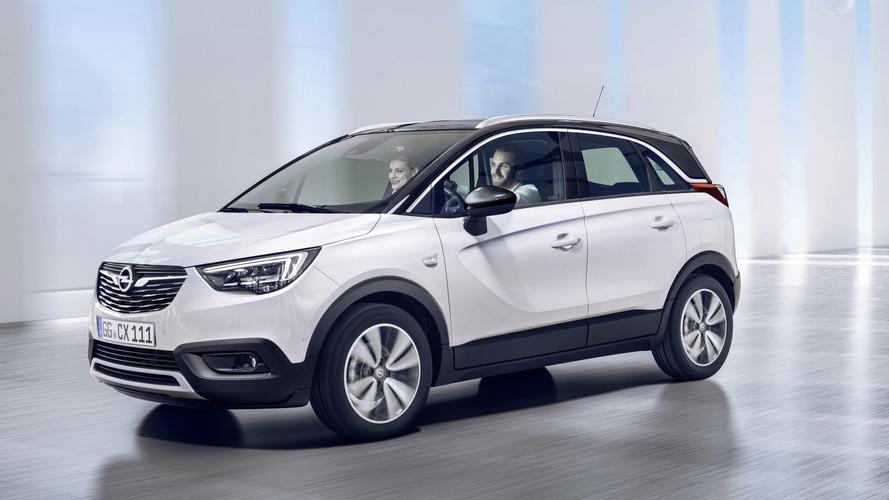 Opel'in yeni crossover modeli Crossland X tanıtıldı