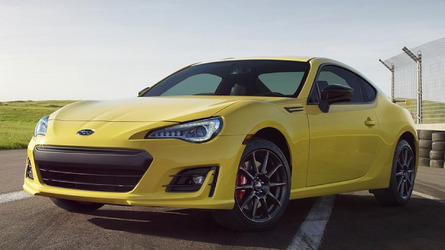 Supercars 2017 Subaru Brz Series Yellow Is Definitely Not Mellow