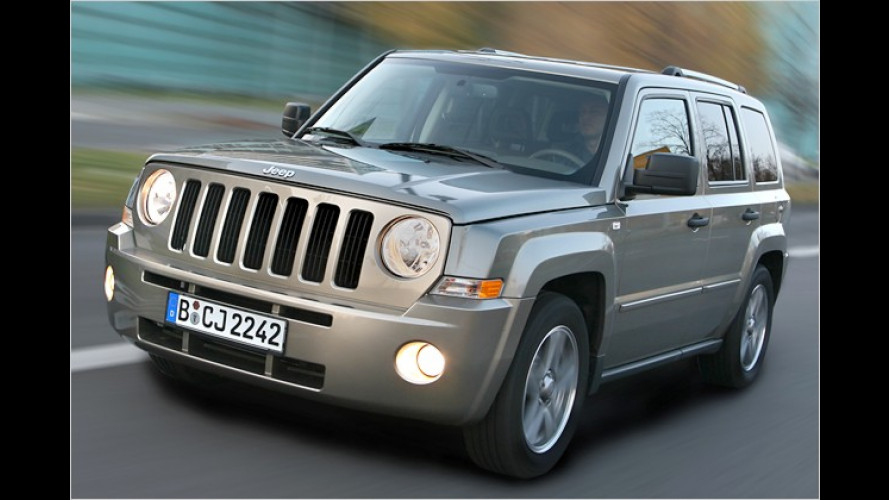 Jeep Patriot mit LPG