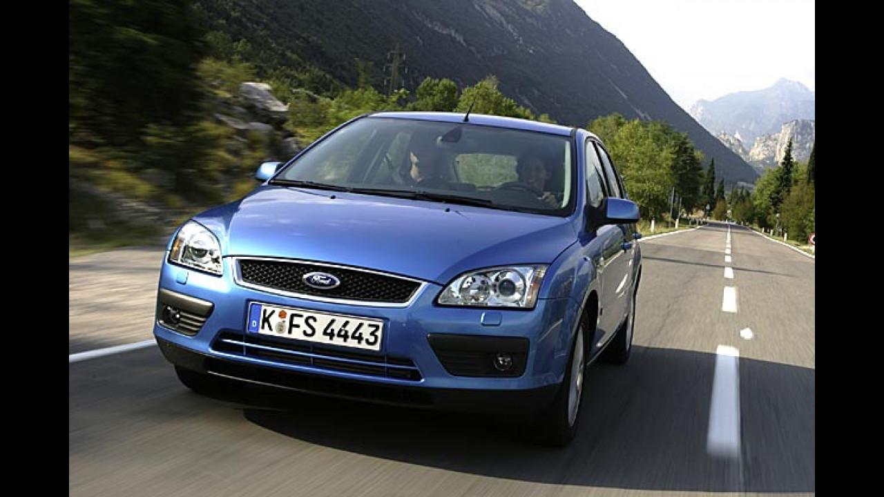 Erdgas-Focus von Ford