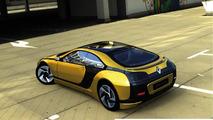 Renault Fuego rendering / Idecore