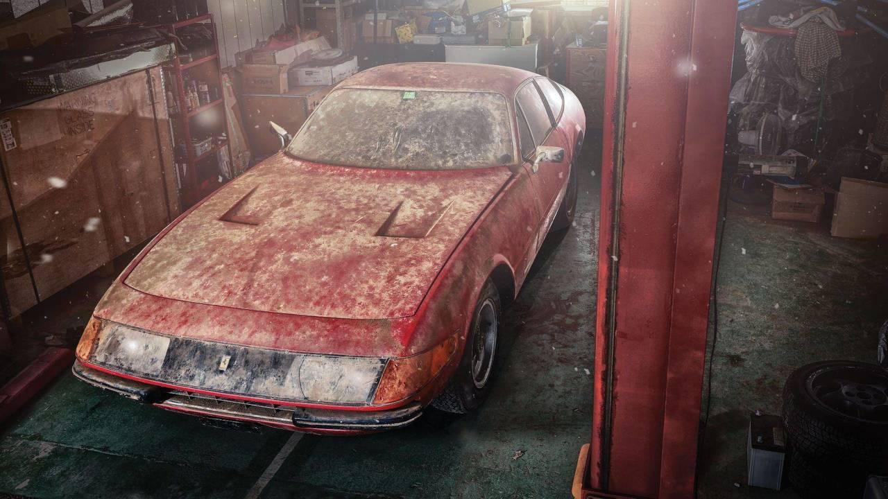 Ferrari Daytona Alloy de 1969